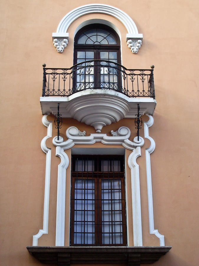 Window Post Office Guatemala