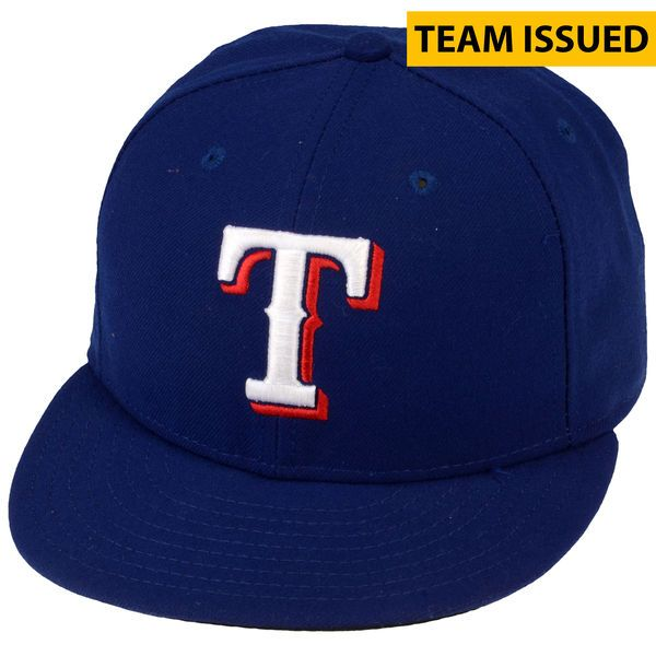 Scott Baker Texas Rangers Fanatics Authentic Team-Issued #25 Blue Cap from the 2014 Season - Size 7 1/4 - $49.99