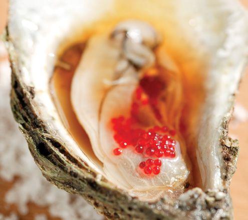 Huîtres à la ponzu | Les Touilleurs