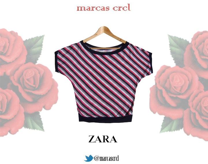 Polera  Zara  Talla M