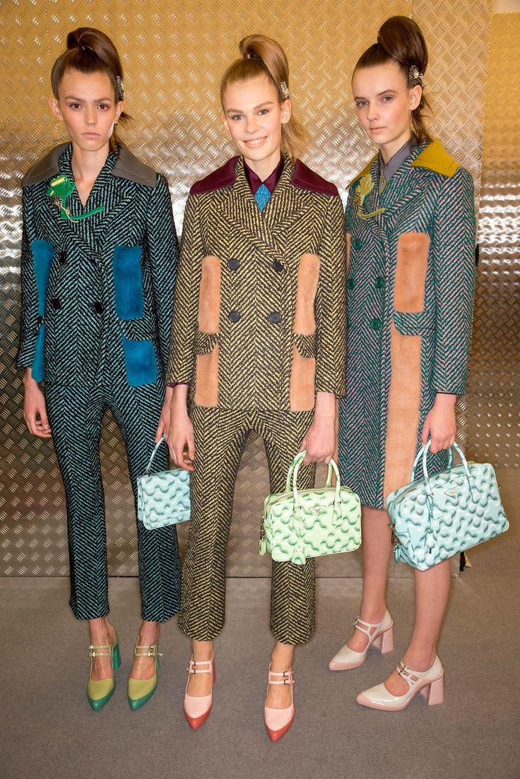 Prada Fall 2015 Ready-to-Wear - Beauty - Gallery - Style.com