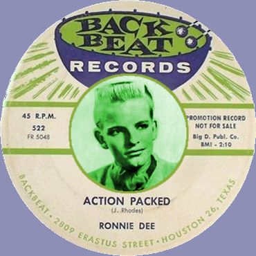 Action Packed, Ronnie Dawson, 1958