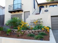 Explore ideas for small front yard landscape design, including plans and picture
