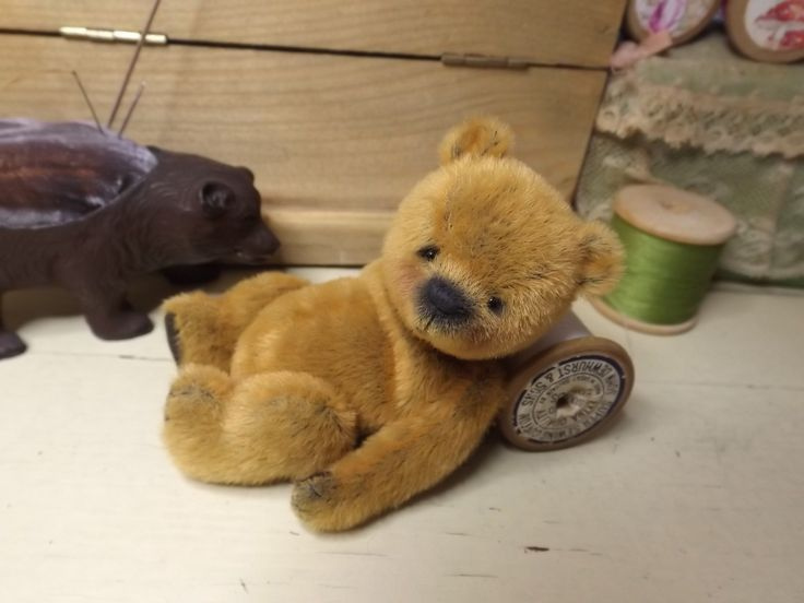 Miniature Teddy Bears w/ Patterns