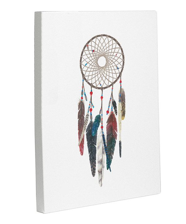 Take a look at this Dream Catcher Canvas on zulily today!