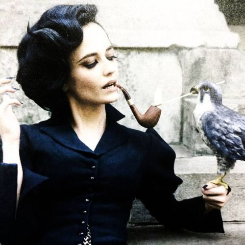 "Eva Green as Miss Peregrine Tim Burton's ""Miss Peregrine's Home for Peculiar Children"""