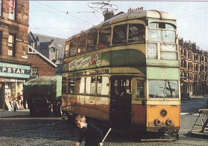 Tollcross Road at Depot - Crail Street