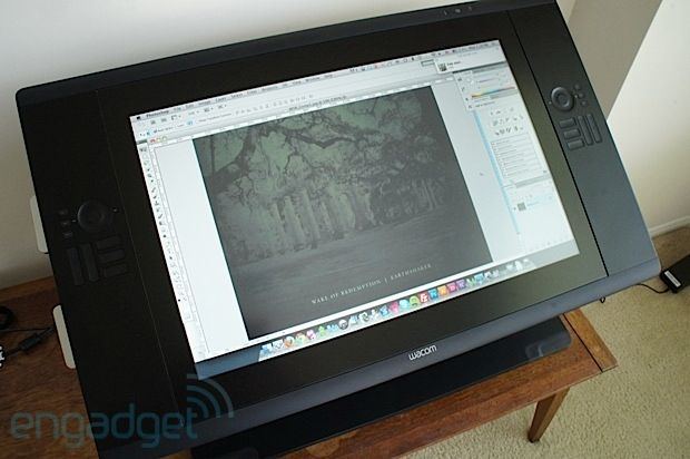 Wacom Cintiq 24 HD touch review the highend pen display tacks on multitouch gestures and an improved panel