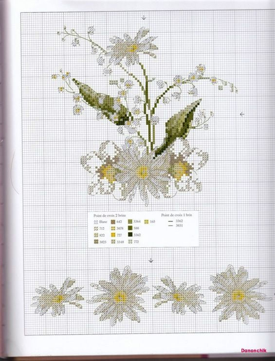 Gallery.ru / Фото #23 - Helene Le Berre - Herbier au point de croix (2008) - tymannost