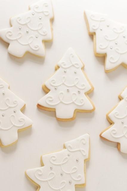 Christmas tree cookies ♥