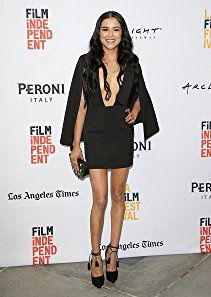 Emily Rios arrives at the LA Film Festival premiere of Tangerine Entertainment's 'Paint It Black' held at Bing Theater At LACMA on June 3, 2016 in Los Angeles, California