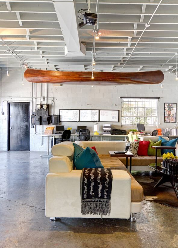 34 Best Industrial Chic Office Images On Pinterest