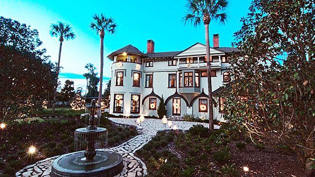 Stetson Mansion at Deland FL // central florida wedding venues