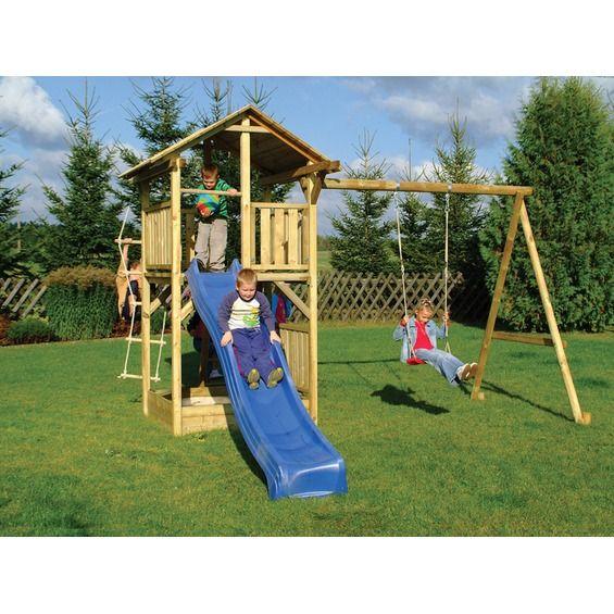 ber ideen zu spielturm mit schaukel auf pinterest spielturm kletterturm garten und. Black Bedroom Furniture Sets. Home Design Ideas