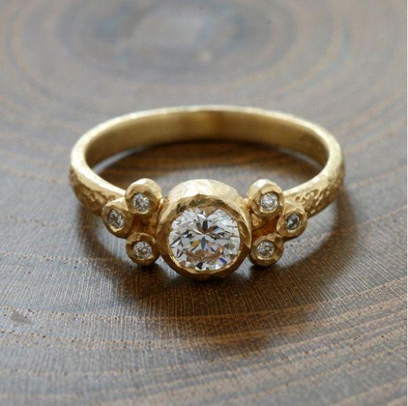 Yasuko Azuma Bezel Diamond Ring