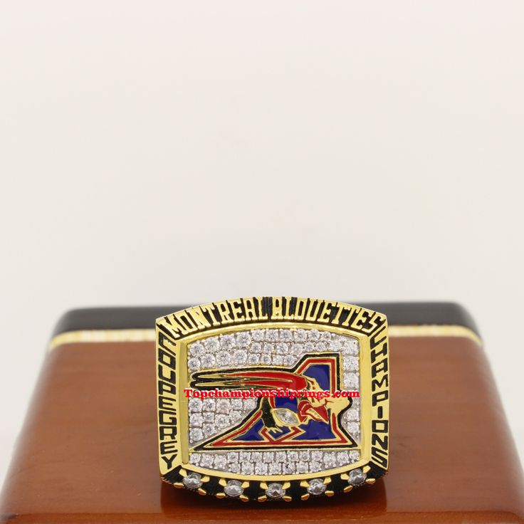 CFL 2002 Montreal Alouettes Grey cup Championship Ring