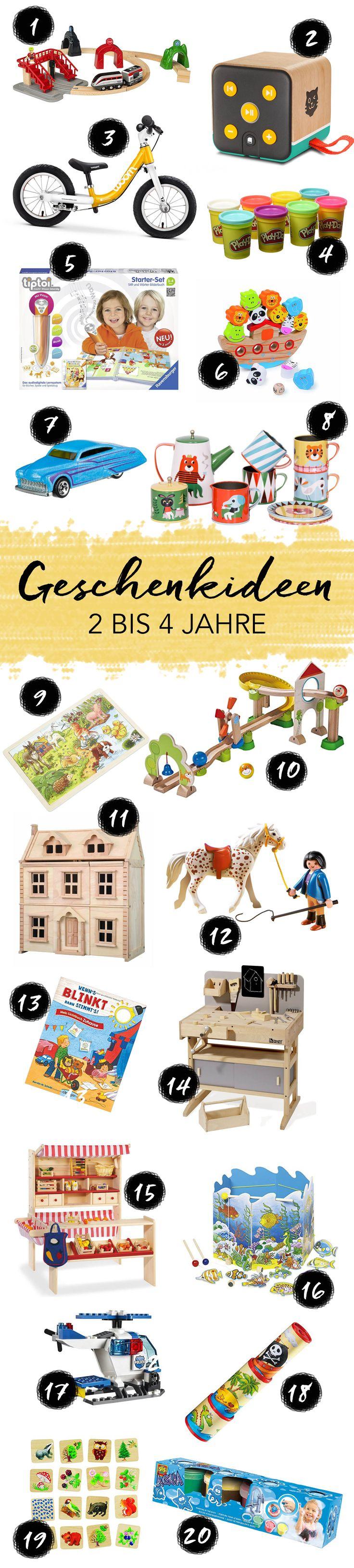 Geschenkideen für Kinder im Alter von 2 bis 3 Jahren | Geburtstag, Weihnachten & Ostern