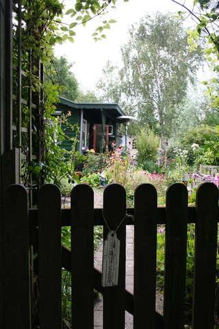 Binnenkijken bij een tuinhuis