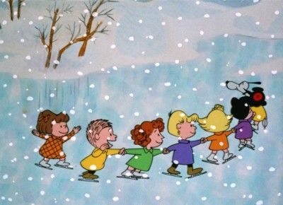 "It's that time of year when Charlie Brown is on. The inner child in us is screaming ""YESSSS!"""