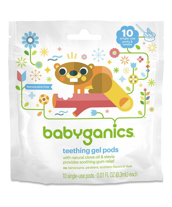Look at this Teething Gel 10-Pod Pack - Set of Three on #zulily today!