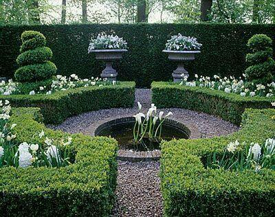36 best 39 boxwoods in the garden images on pinterest for Formal japanese garden