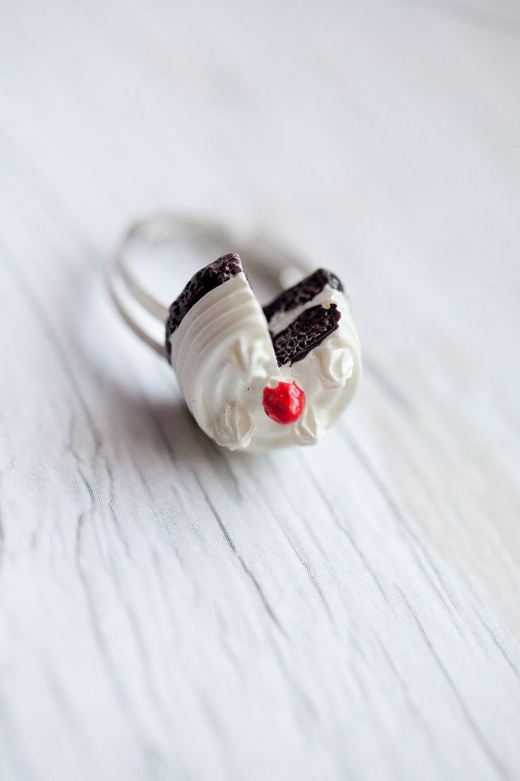 Cake ring . Adjustable: Fairy Cakes, Tiny Girly Rings, Vintage Style