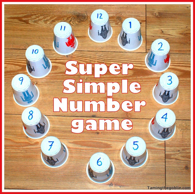 Number recognition. This would work for telling time also