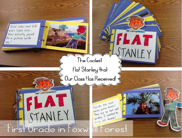 idea for an adventure booklet to send back home with visiting Flat Stanley
