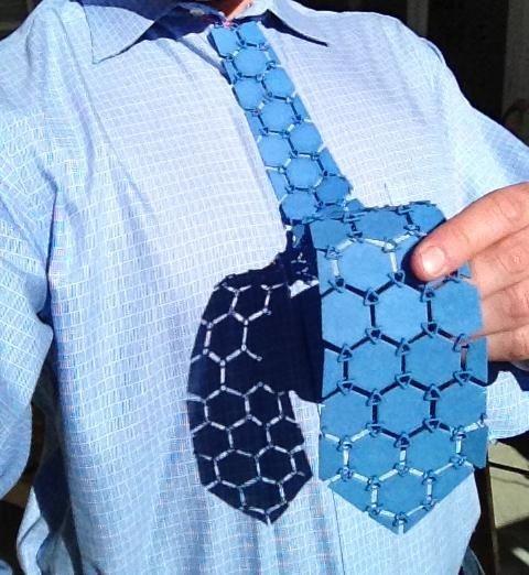 Die Nylon-Krawatte aus dem 3D-Drucker