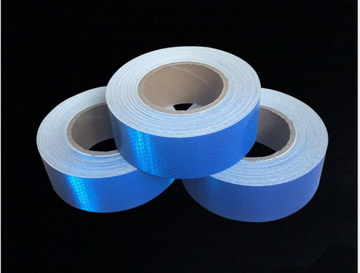 5cm*50M Reflective adhesive tape for Bike Truck Car Motorcycle PVC Reflective Self-adhesive Warterproof Tapes #Affiliate