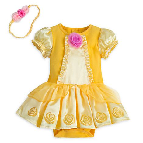 [Baby our guest]Baby will be the Belle of the ball in this adorable costume…