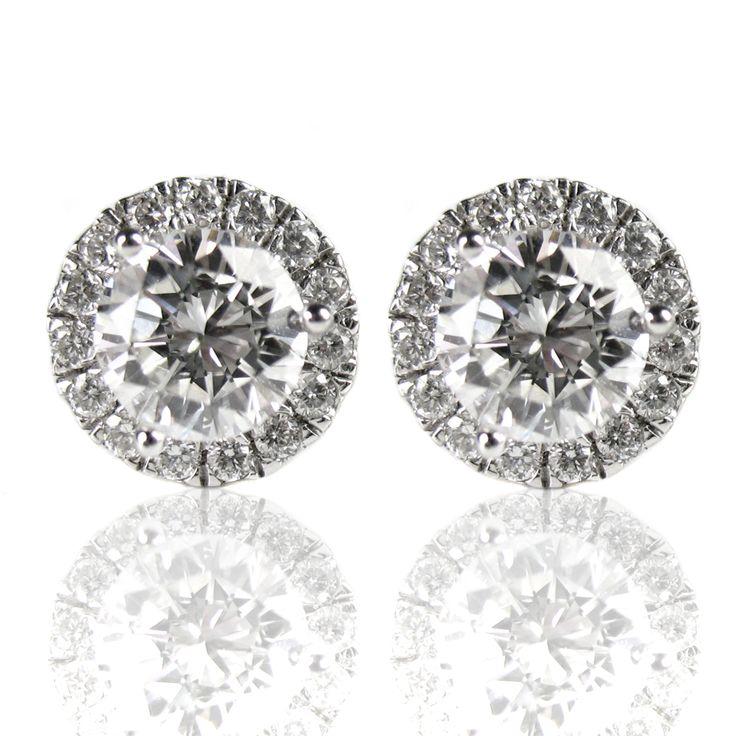 Margarita Diamond Stud Earrings made by Spexton.com