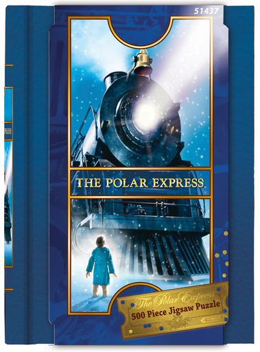 Polar Express Book Box Jigsaw Puzzle (500 pcs)