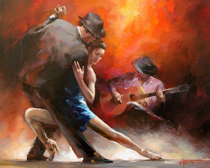 Tango Argentin by Dutch artist Willem Haenraets