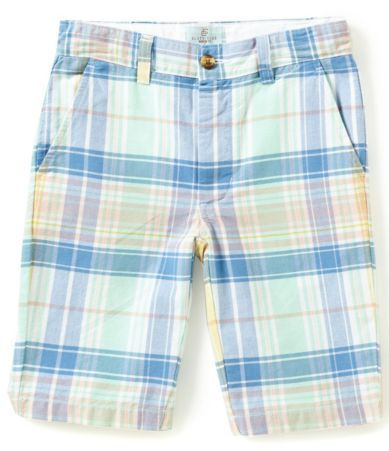 Class Club Big Boys 8-20 Plaid Shorts #Dillards