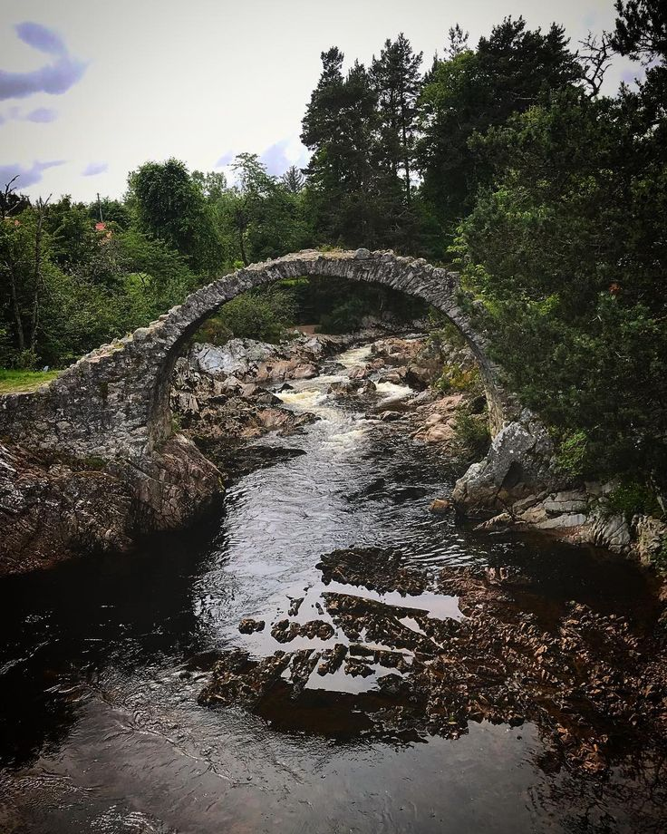 As well as bottlenose dolphins a red squirrel stags a seal and an osprey we also discovered a fairytale bridge on our trip up to the Highlands. . . . . . . . . . . . #scotland #scotspirit #instascotland #instatravels #bridge #fairytale #highlands #cairngorms