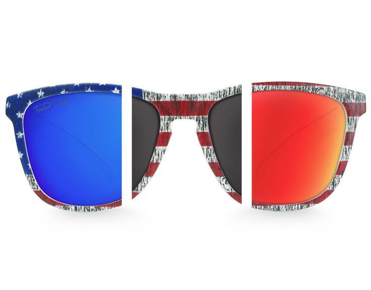 American Flag Sunglasses Bundle
