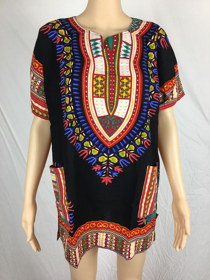 >> Click to Buy << 2016 New Woman Dashiki Red Long Shirt African Women Clothing Tradition Dashiki Africa Bazin Riche Tribal Shirt Summer Top #Affiliate