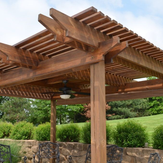 Las 25 mejores ideas sobre pergolas de madera baratas en - Pergolas de madera baratas ...