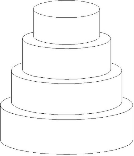 cake template