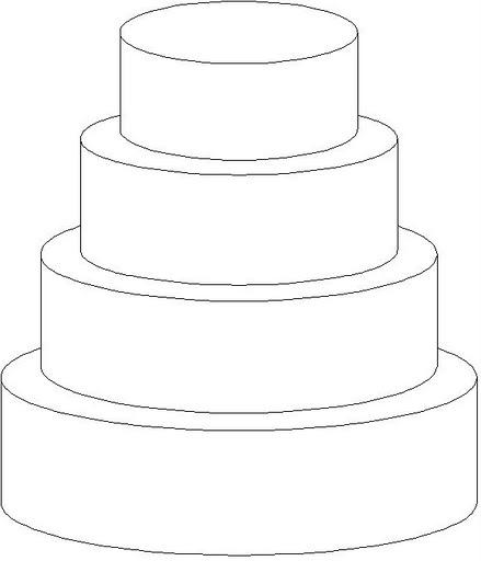 * Versier de taart! Verschillende technieken zijn hier mogelijk en door elkaar heen!