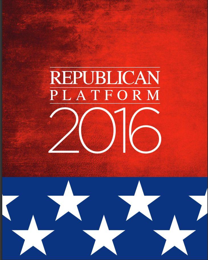 Republican Platform 2016
