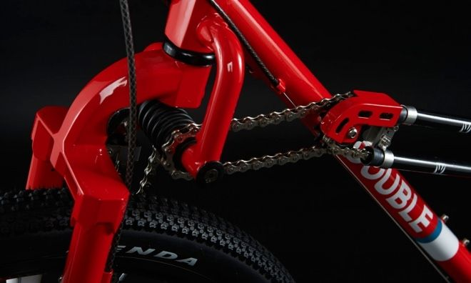 前後輪駆動の自転車、梅雨入り前に買っとく?―悪天候やダートに強い2WDの「DOUBLE(ダブル)」 - えん乗り