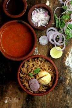 Egg Biryani - South Indian Biryani Recipe using hard boiled eggs. Tasty one pot meal with awesome flavors!!