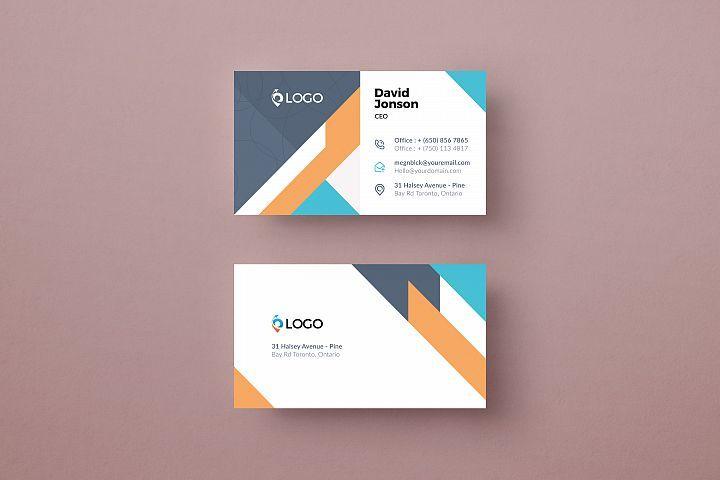 Modern Business Card Template 521717 Business Cards Design Bundles