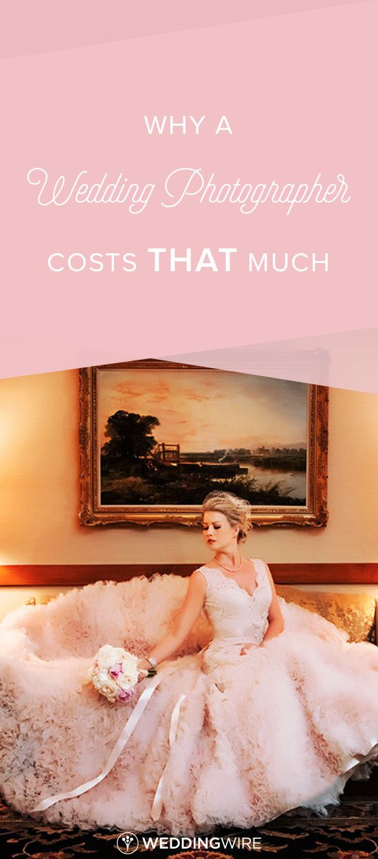 Why a Wedding Photographer Costs THAT Much - Learn why wedding photography costs more than you might expect on @weddingwire. {Limelight Photography}