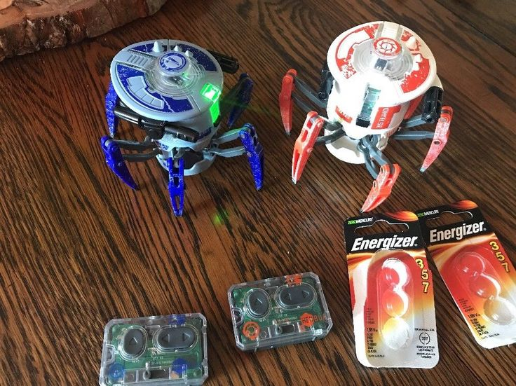 HEXBUG Battle Spider 2-Pk Toy  Battle Robots New Batteries!  | eBay