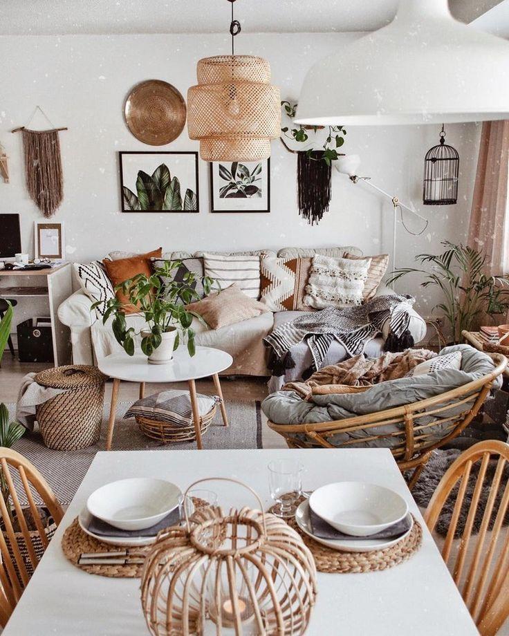 Neue stilvolle böhmische Wohnkultur-Ideen #dec…