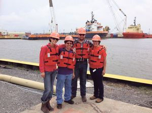 Maritime workforce, gender neutral. Able to go overseas for work experiences