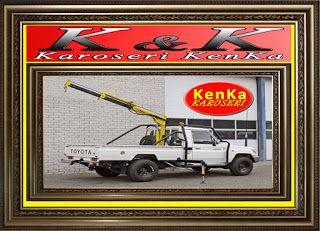 Mobil Crane Kapasitas 1 Ton >> KAROSERI KENKA